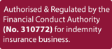 Authorised & Regulated by the Financial Conduct Au