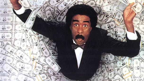 Richard Pryor inherited a fortune in 'Brewster's Millions'.