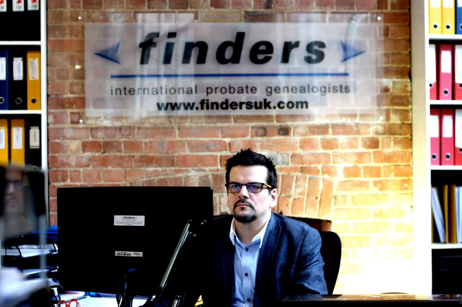 Daniel Curran of Finders UK, who could help you trace a family fortune.