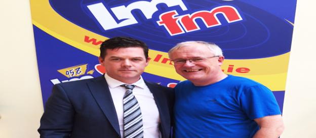 Padraic Grennan with LMFM Gerry Kelly