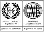 Логотип ISO 27001