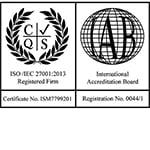 Лого на ISO 27001