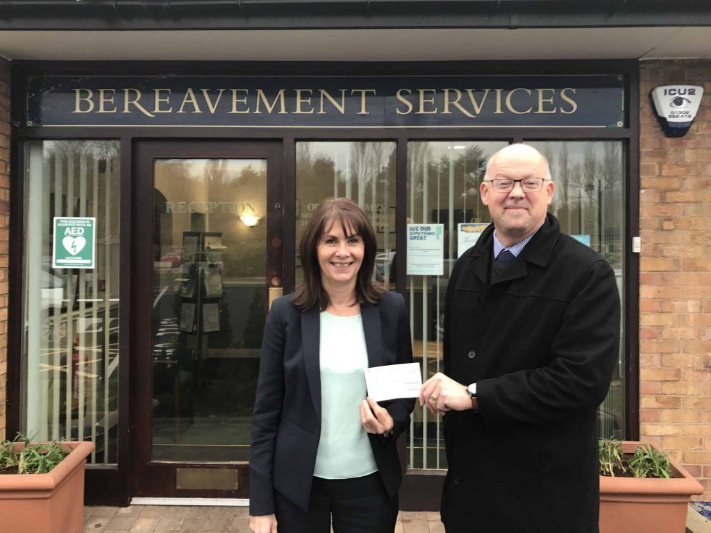 Finders International Funeral Fund award to Doncaster Council