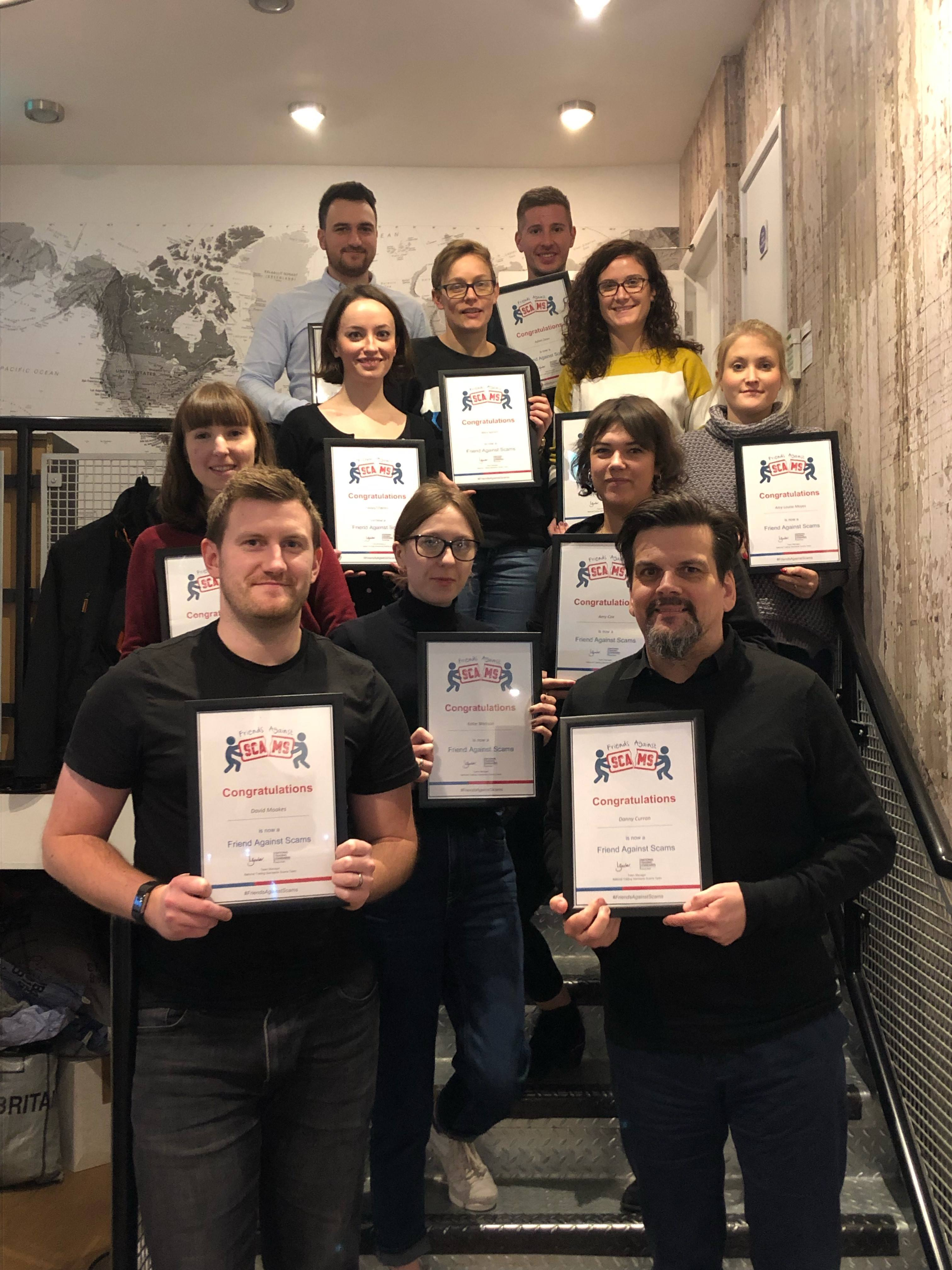 Finders International - Friends Against Scams Certification