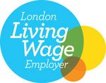 Логотип London Living Wage