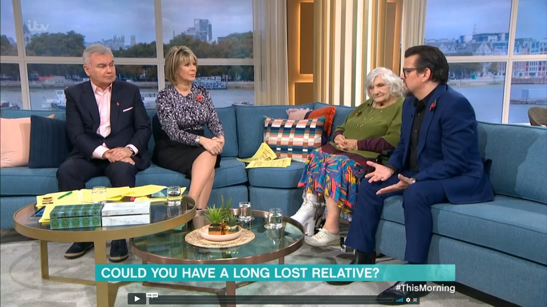 ITV - this morning 08-11-19
