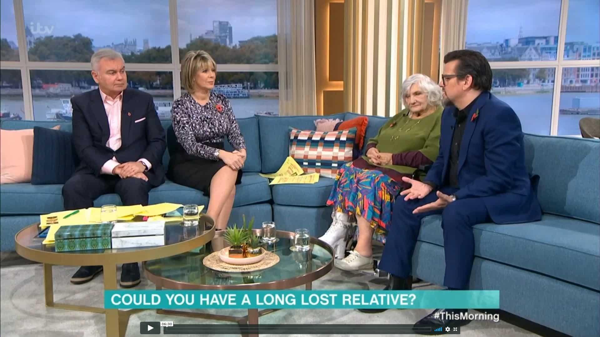 ITV - ce matin 08-11-19