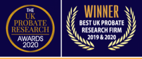 Probate Research Awards Best UK probate research firm